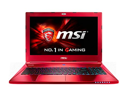 """MSI Gaming GS60 2QE(Ghost Pro Red edition)-485ES 2.6GHz i7-4720HQ 15.6"""" 1920 x 1080Pixels Rosso"""