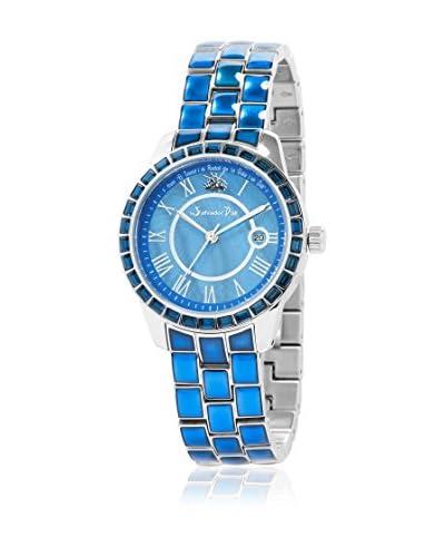 Grafenberg Reloj de cuarzo Woman SDZ01-133 Azul 38 mm