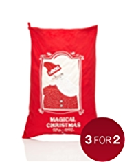 Large Santa Christmas Sack