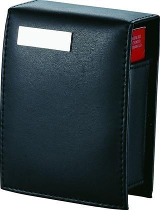 Teresina Black Leather Cigarette Case