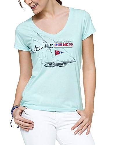 Nebulus Camiseta Manga Corta Retro