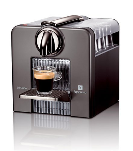 Cheap Cup Coffee Makers Nespresso C185t Le Cube Automatic