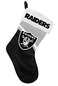 Oakland Raiders Stocking - 2013 Swoop Logo by Hall of Fame Memorabilia