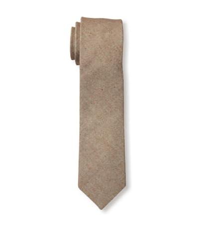 Gitman Men's Herringbone Tweed Tie, Brown