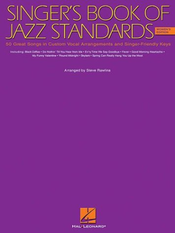 The Singer's Book of Jazz Standards - Women's Edition (Vocal Collection) (Jazz Female Singers compare prices)
