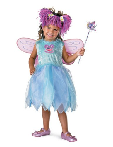 Abby Cadabby Deluxe Toddler Costume 3T To 4T - Toddler Halloween Costume