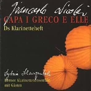 Giancarlo Nicolai/Berner Clarinet Ensemble with Guests - Capa I Greco