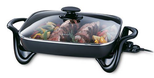 Presto 06852 16-Inch Electric Skillet with Glass Cover (Pan Skillet compare prices)