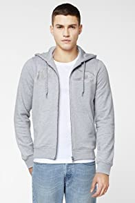 L!VE Roaring Croc Zip Front Hoody Sweatshirt
