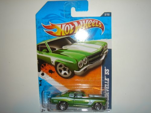 2011 Hot Wheels '70 Chevelle SS Light Green #102/244