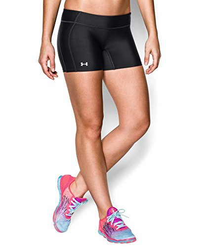 "Under Armour Women's UA React 4"" Volleyball Shorts Large Black"
