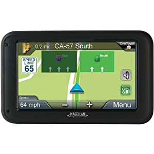 "5"" GPS & Navigation w/ Lifetime Map Updates"