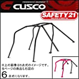 CUSCO SAFETY21ロールバー 6点式・定員ルーフ(Fr.逃げ)【インプレッサ GVB/GVF】