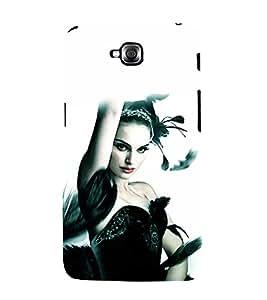 printtech Black Swan Ballet Dance Back Case Cover for LG GPro Lite::LG G Pro Lite Dual D686