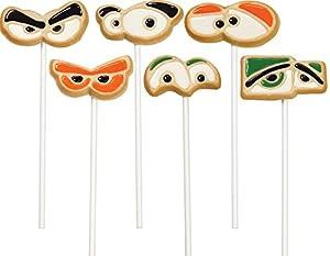 WILTON Non-Stick Cookie Mold Pans Combo Pack - Eyeballs & Bones