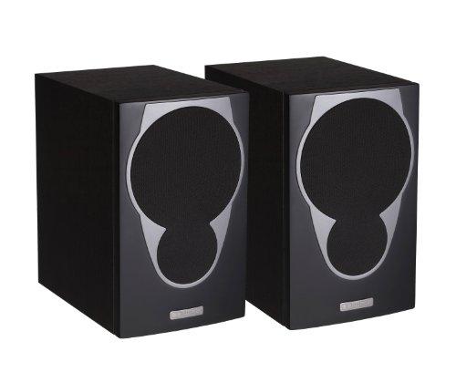 MX1-BLACK 2 x MX1 Hifi Speakers in Black Black Friday & Cyber Monday 2014