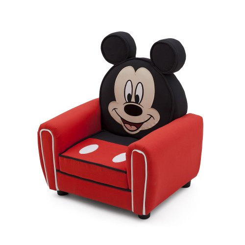 Delta Disney Mickey Mouse Upholstered Chair front-439381