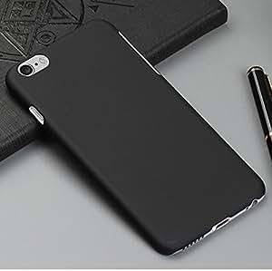 KraftLink High Quality Premium Rubberised Matte Finish Protective Shell Hard Back Case Cover For Infocus M810 - Black