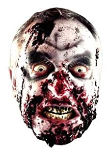 Zombie Halloween Face Mask by Star Masks