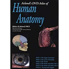 Acland's Dvd Atlas of the Human Anatomy: The Upper Extremity, the Lower Extremity, the Trunk, the Head and Neck, Part 1, the Head and Neck Part 2, and the Internal Organs