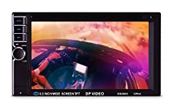 See DP Audio Video DBD808 6.2-Inch Double Din Multimedia Receiver with Bluetooth and IR/FM Transmitters Details