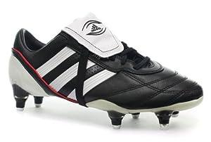 Adidas adiPure R15 Herren Rugby Schuhe, Schwarz, Größe 41 1/3