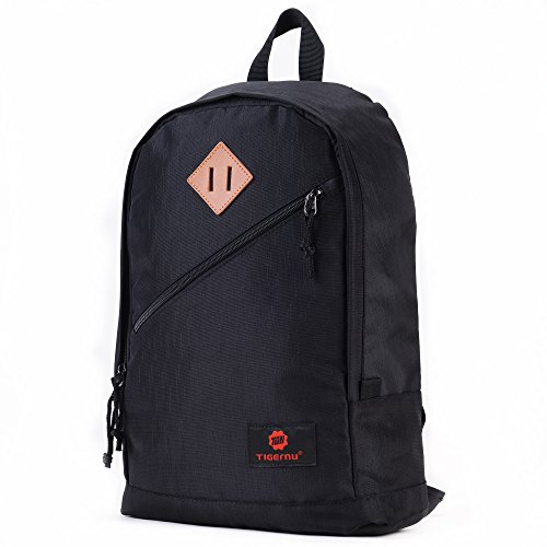 Fubevod-Mochila-nios-Clasico-Moderna-Laptop-Backpacks-Unisex-Mochila-Escolar-para-Libro-Negro