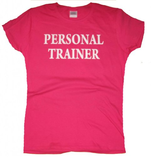 Got-Tee - Womens Personal Trainer Fitness exercise Gym Women T-Shirt S Pink