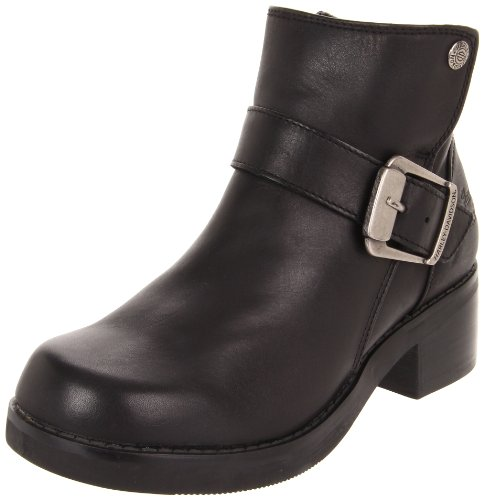 Harley-Davidson Women's Khari Work Boot, Black, 7 M US