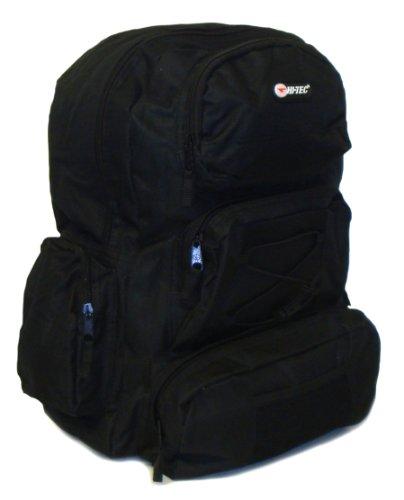 Large Hi-Tec Backpack Multi Zip Pockets - Assorted - UK 1-1