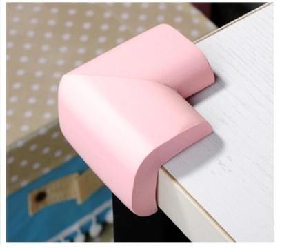 zhou-Kinder-Ecke-Wache-verdickt-weich-Baby-Couchtisch-Tisch-Ecke-Baby-Bump-Nachweis-Schwamm-8-Stk-pink