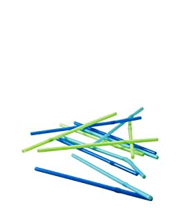 Progressive International Flexible Straws, Set of 50