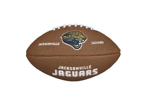 Wilson Nfl Team Logo Jacksonville Jaguars Pallone da Football Americano, Marrone, Taglia Unica