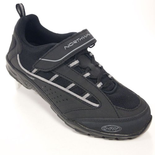 Northwave Wave Cycling Shoes SPD MTB Touring Spin Class Commute 37eu 5.5us Black