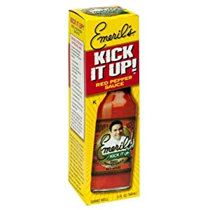 Emeril's Kick it Up Red Pepper Sauce, 5 fl oz from AmericanSpice.com