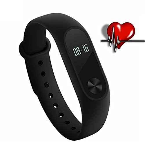 Xiaomi MI Band 2OLED Display, Heart Rate, Bracelet Activity, iOS and Android