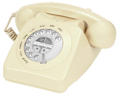 Geemarc Mayfair Retro Style Two Piece Corded Telephone - Cream - UK Version Reviews