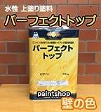 日本ペイント パーフェクトトップ 常備色(壁の色) 15kg 水性塗料 つや:つや有り ND-155