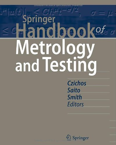 Springer Handbook of Metrology and Testing, 2nd Edition