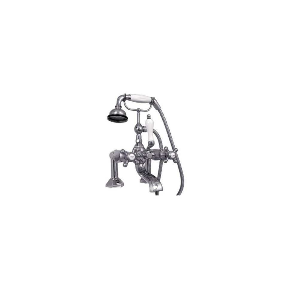 Gramercy 312 Single Lever Tub Group W/ Diverter and Hand Held Shower by Watermark