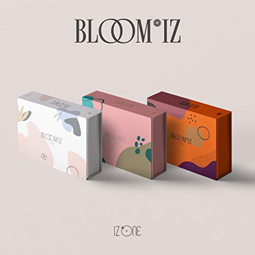 CD : IZ*ONE - Bloom*iz (random Cover)