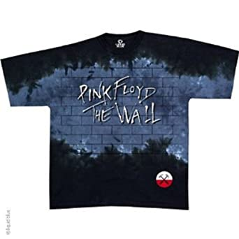 Pink Floyd - Brick In The Wall Tie Dye T-Shirt - X-Large
