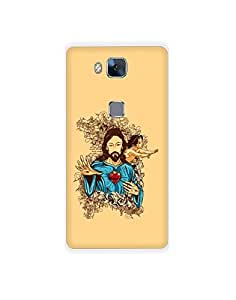 Huawei Honor 5X ht003 (164) Mobile Case from Mott2 - Jesus Christ - Holy (Limited Time Offers,Please Check the Details Below)