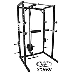 Best Power Racks: Valor Athletics Inc. BD - 7 Power Rack with Lat Pull