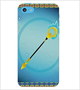 PrintDhaba Arrow D-3696 Back Case Cover for APPLE IPHONE 5C (Multi-Coloured)