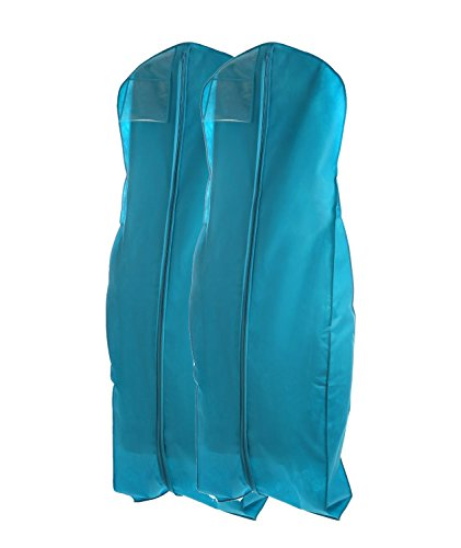 Bags for less wedding gown travel storage garment bag 2 for Wedding dress garment bag for plane