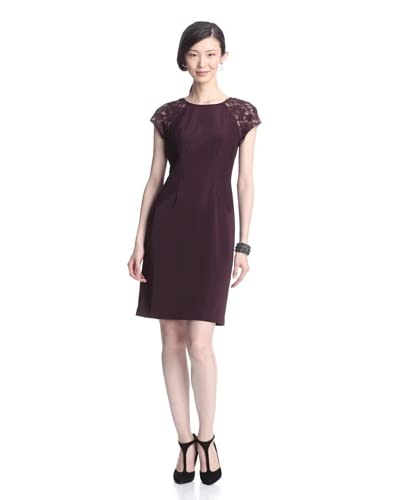 Adrianna Papell Women's Sheath Dress with Lace