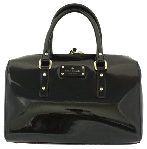 Kate Spade New York Women's Flicker Melinda PXRU3089 Satchel,Black,One Size - B005BS2W0W | PursesCatalog.com :  kate spade purses womens satchel