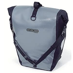 Ortlieb Waterproof Back-Roller Classic - QL1 Cycle Panniers Pair - Grey / Black