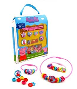 Amazon.com: Peppa Pig Make Your Own Jewellery Set: Toys & Games